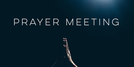 Wednesday Night Prayer Meeting with Zoom